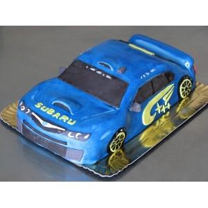 gâteau voiture Subaru