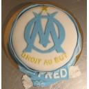 le gâteau foot OM