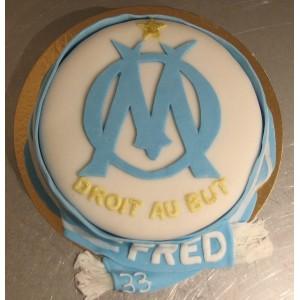 gâteau foot OM