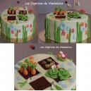 le gâteau jardin potager