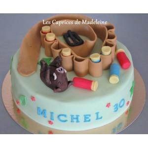 le gâteau chasse