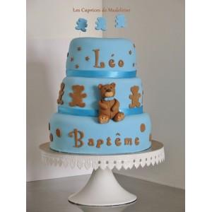 gâteau nounours (à étages ou wedding cake)