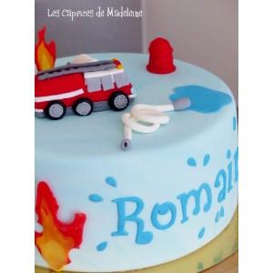 gâteau Pompiers