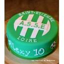 le gâteau foot St Etienne