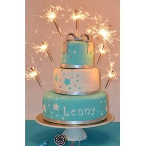 le gâteau pluie d'étoiles (à étages ou wedding cake)