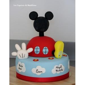 le gâteau maison de Mickey
