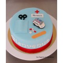 le gâteau médical (infirmière)