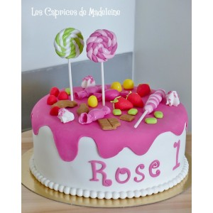 le gâteau gourmandise