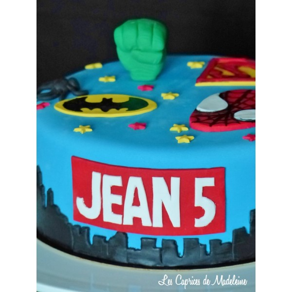 Souvent Gâteau héros de Marvel FN85