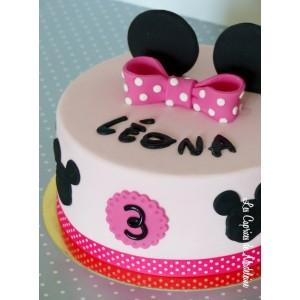 gâteau Minnie 2