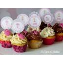 Cupcakes baptême (ici mini)