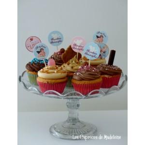 Cupcakes mariage ou amoureux
