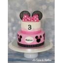 gâteau Minnie à étages