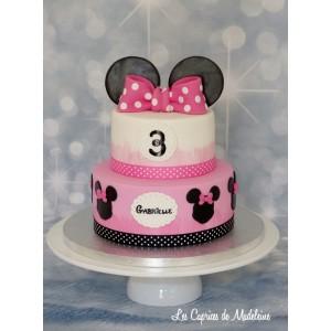 gâteau Minnie à étages 2