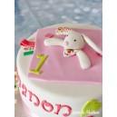 le gâteau doudou et cie Lapin