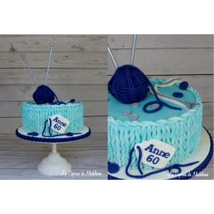 Gâteau tricot