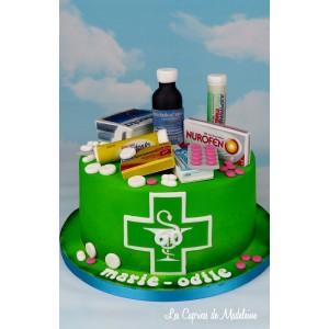Gâteau pharmacie