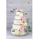 Gâteau à étages naked cake