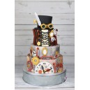 Wedding cake steampunk